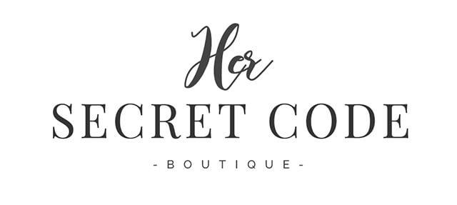 Her Secret Code Boutique - Logo